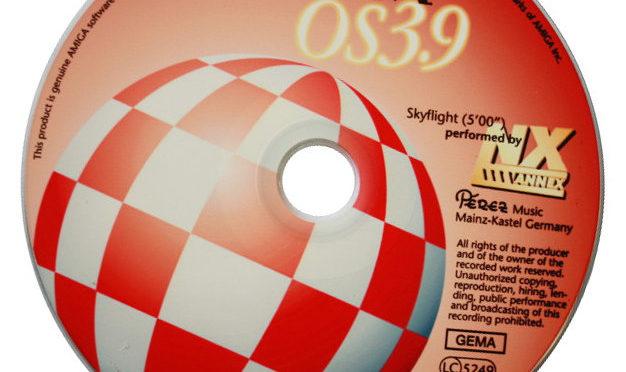 AmigaOS 3.9 ohne CD-Laufwerk am Amiga