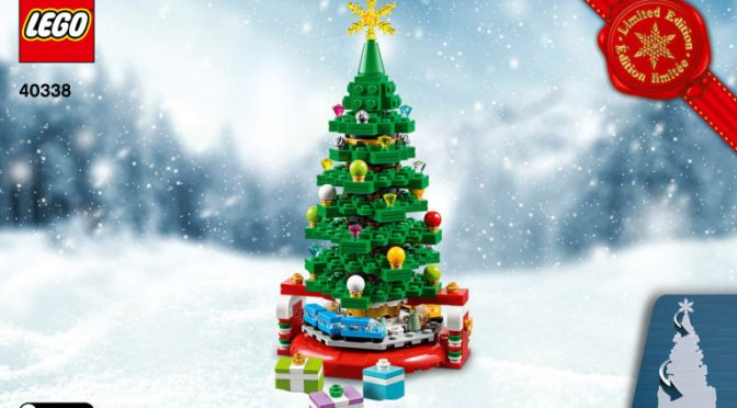Lego #40338 – Christmas Tree Gift