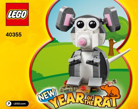 Lego #40355 – Year Of the Rat Gift