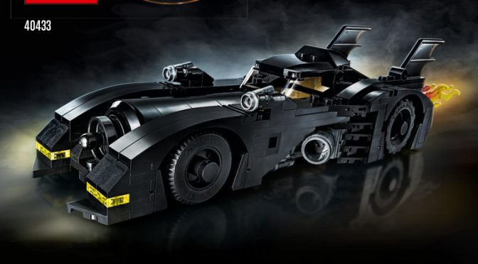 Lego #40433 – Batmobil Limited Gift Edition