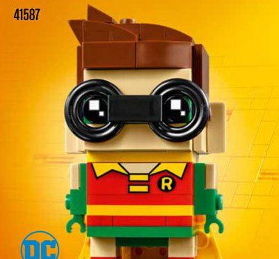 Lego #41587 – Robin BrickHeadz #3