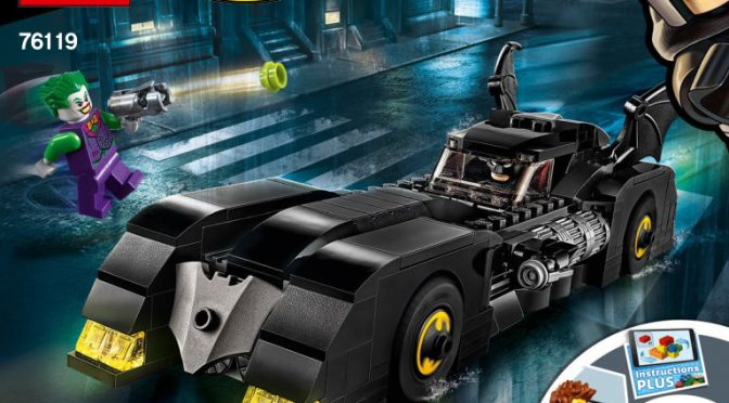 Lego #76119 – Batmobile Verfolgungsjagd mit dem Joker