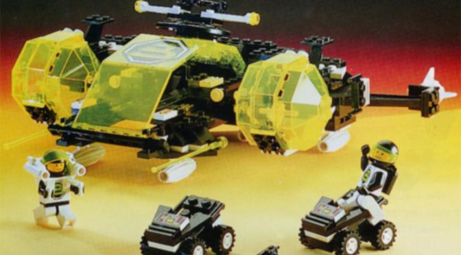 Lego #6981 – Aerial Intruder