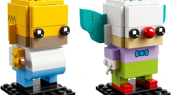 Lego #41632 – Simpsons BrickHeadz #78 & 79
