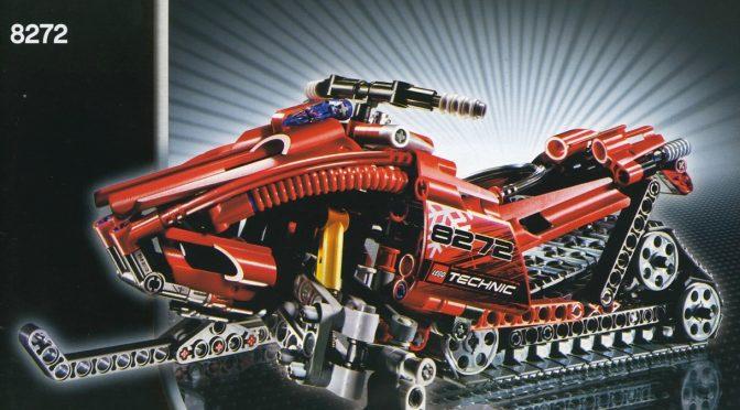 Lego #8272 – Snowmobile