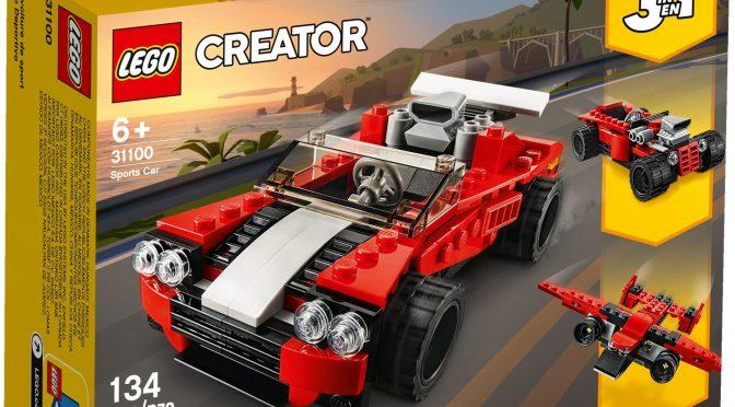 Lego #31100 – Sportwagen
