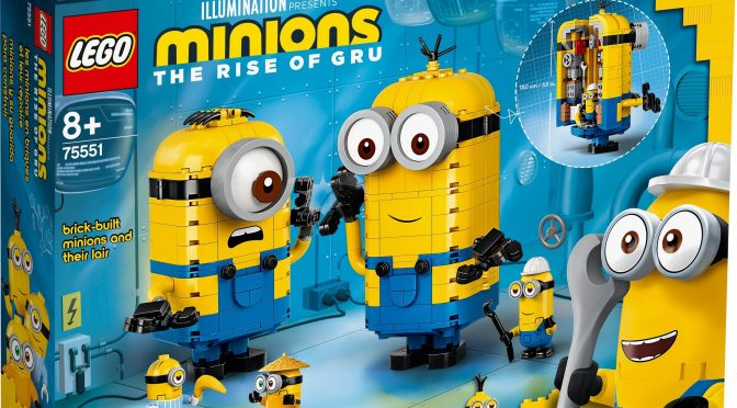 Lego #75551 – Minions-Figuren mit Versteck