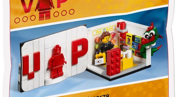 Lego #40178 – Iconic VIP Set