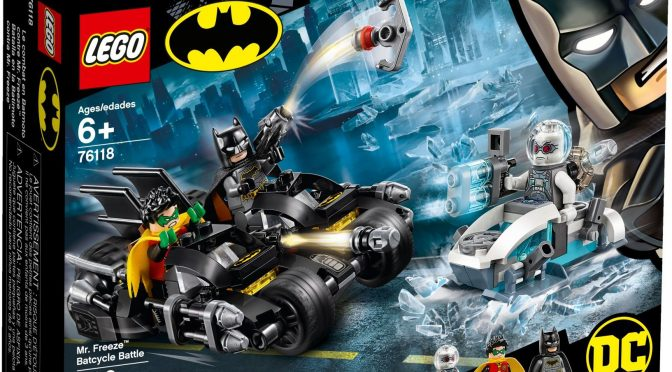 Lego #76118 – Mr. Freeze Batcycle Battle