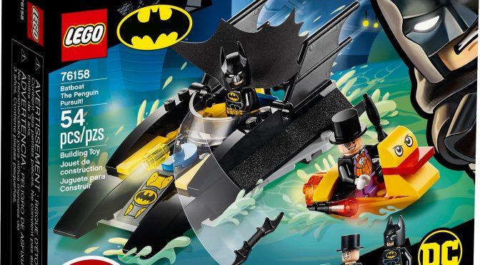 Lego #76158 – Verfolgung des Pinguins – mit dem Batboat